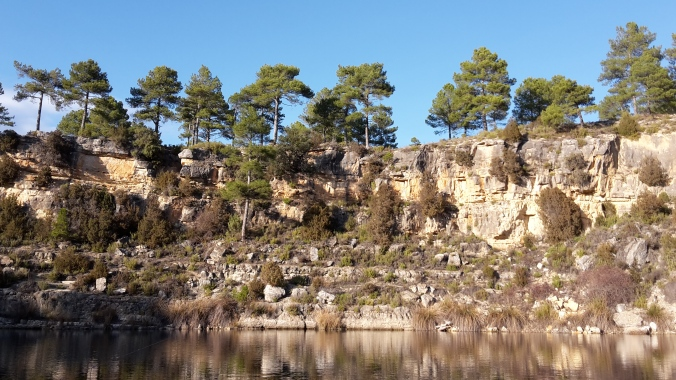 Lake La Cruz in Spain