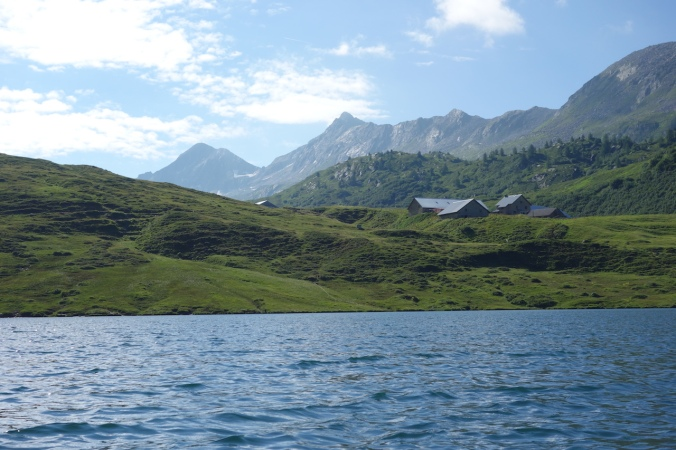 Lake Cadagno
