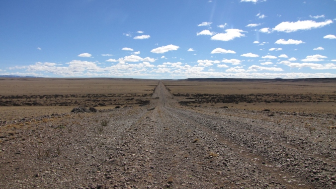 endless Road in Argentina