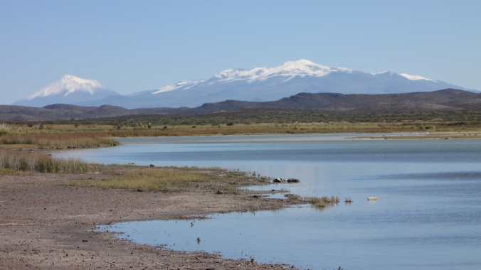 Lake in Argentina