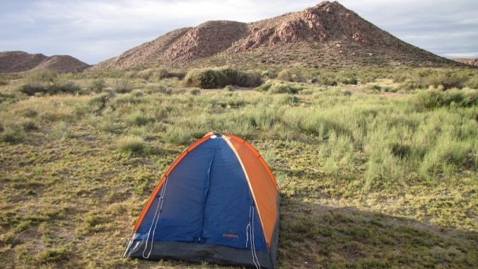 Tent in Argentina