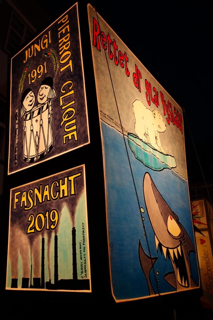 Laterne Basler Fasnacht 2019
