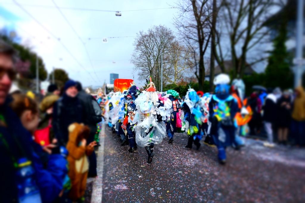 Umzug der Basler Fasnacht 2019